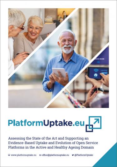 PlatformUptake Leaflet Cover Screenshot